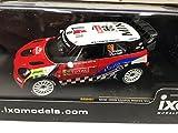 Ixo 1:43 Auto Mini John Cooper Works #52 Campana Castelli 1:43 Rallye DIECAST RAM487