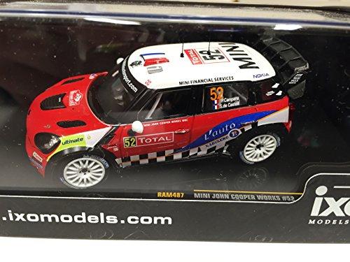 Castello Mini (Ixo 1:43 Auto Mini John Cooper Works #52 Campana Castelli 1:43 Rallye DIECAST RAM487)