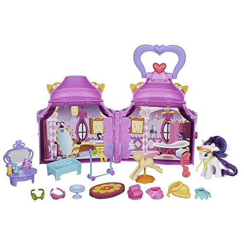 My Little Pony–Juguete–Amistad Es Magia–Cutie Mark Magic–Rareza booktique Playset