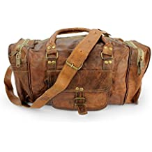 A.P. Donovan - Bolso de cuero por parte viariabel equipaje adecuado para la bolsa de escapada Vuelo deportes de ocio del hombro de 40 cm