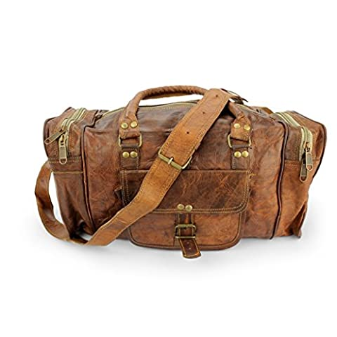 A.P. Donovan - Leder-Tasche für Handgepäck - viariabel verwendbar für