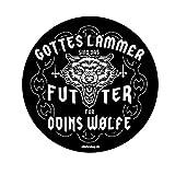 Gottes Lämmer sind das Futter für Odins Wölfe Wikinger Germanen Aufkleber Autoaufkleber Sticker Vinylaufkleber Decal