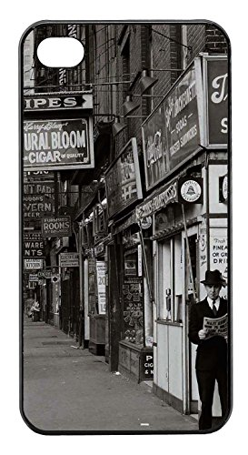 Coque Iphone 4/4S - Photographie noir et blanc vintage tendance - Ref 674