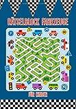 Rätselblock für Kinder Fahrzeuge: Das Rätselbuch mit Logikrätsel für Kinder ab 5 Jahren - Über 30 Rätsel, Ausmalbilder und Ratespiele für Kinder - Geeignet für Grundschule oder als Vorschulbuch