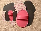 Haarentfernungspads - Peelingpads - für Gesicht und Körper - pink