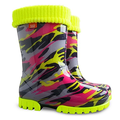Demar Twister Girls Boys Wellies Boots