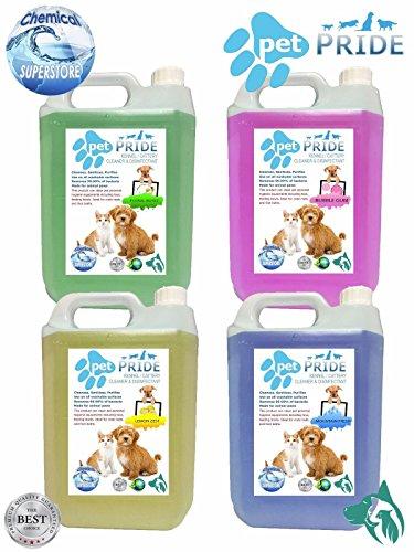 Collection Here 5l Fresco Mascota Jaula Desinfectante Fresh Linen Shrink-Proof Botella Aerosol