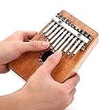 #1: Mustang - Walter Kalimba 10 Notes Keys Thumb Piano Pocket Size Beginners Friendly Supporting Kalimba Bag And Musical Notation
