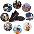 Lyoridra Arbeitsschuhe Herren Damen S3 Leicht Sportlich Sicherheitsschuhe Atmungsaktiv Schutzschuhe mit Stahlkappe Outdoor Schuhe Unisex