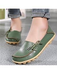 Zapatillas de Moda Sandalias | Sandalias de mujer Un gran número de zapatos de mujer | zapatos cómodos zapatos de mujer mamá Lazy Bones zapatos | Calzado casual femenino mediante un,armee-gr n,34