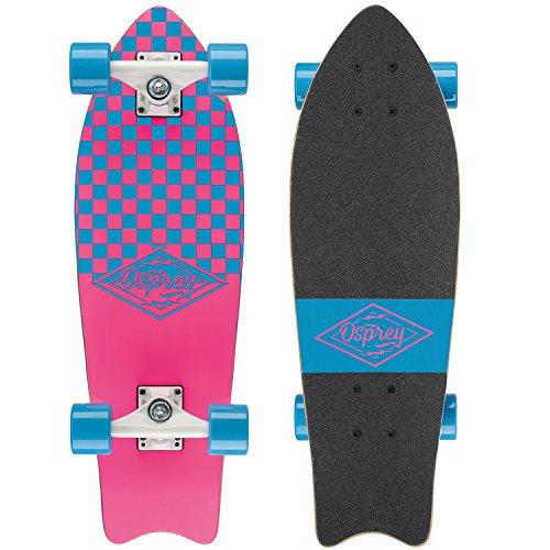 Osprey Unisex Cruiser Skateboard, mehrere Styles Einheitsgröße Mini Checkers