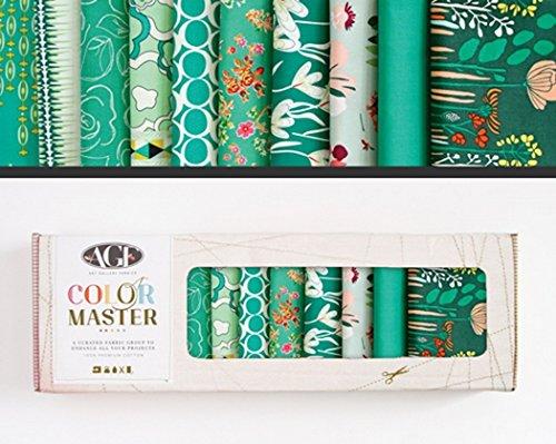 Art Gallery Fabrics - Stoffpaket Baumwolle I DIY Patchwork Stoffe Paket I 10 St.
