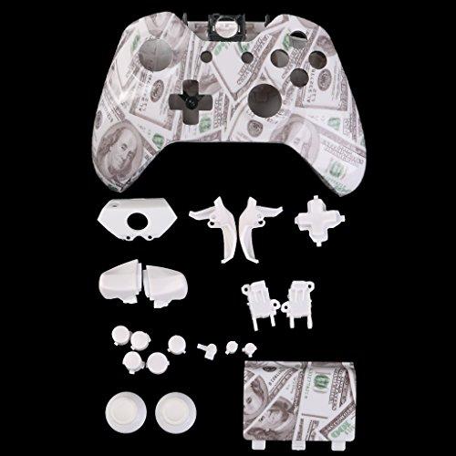 kokiya Volle Gehäuseschale Fall Tasten Teile Ersetzen Für Microsoft Xbox Einen Controller - Dollar Dollar Fall