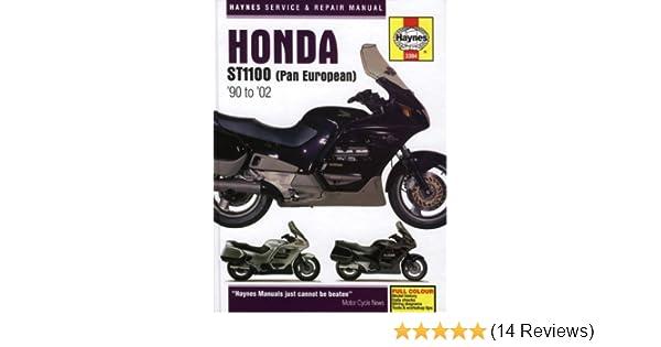 honda st1100 pan european service and repair manual 1990 to 2002 rh amazon co uk Honda Motorcycles honda st1100 workshop manual