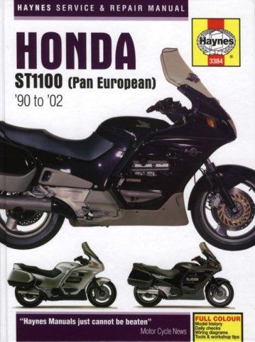 Honda St1100 Pan European 90 To 02 Haynes Service Repair Manual