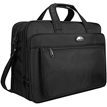 17 Inch Laptop Travel Bag Briefcases Water Resistant with Organizer Expandable