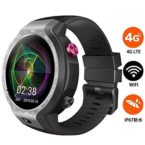 BUHWQ Smartwatch Fitness Tracker Armband Uhr SchrittzäHler Uhren Smart Watch 4G Dual-System wasserdichte GPS-Positionierungskarte Z30 Sportuh (Sprint-smart Watch)