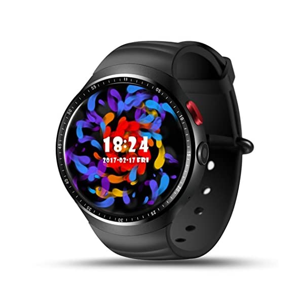 Mens Fitness Tracker Smart Watch For Android IOS Vneirw Generic LES1 3G SIM16GB GPS WIFI Sport Watch Smart Watch With Heart Rate MonitorPedometerBluetooth