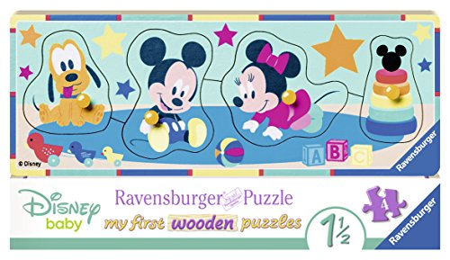 Ravensburger 03238 - Disney Babys, my first wooden puzzle Mickey-mouse-holz-puzzle