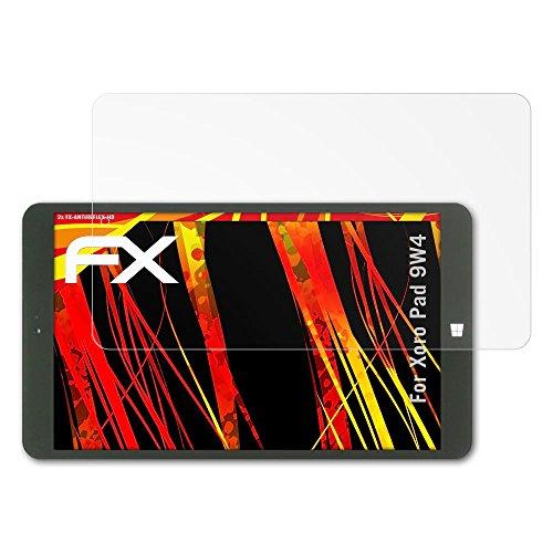 atFolix Schutzfolie kompatibel mit Xoro Pad 9W4 Bildschirmschutzfolie, HD-Entspiegelung FX Folie (2X)