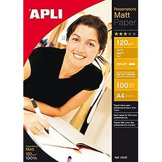 agipa 12626 Foto-Papier, DIN A4, 120 g/qm, matt