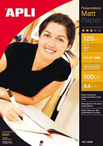 Papel Fotogr/áfico A4 Para Impresoras De Inyecci/ón De Tinta Papel Fotogr/áfico Profesional Acabado Mate Simply Direct 190gsm 50 Hojas Calidad Premium