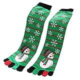 Weihnachten Socken Btruely 3D Gedruckt Weihnachten Socken Frauen Casual Socken Nette Unisex Low Cut Socken Weihnachtsmotiv Weihnachten Festlicher Baumwolle Zehensocken (B)