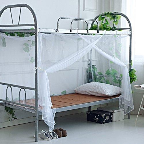 Mosquiteras Mosquitera Mosquitero Mosquito Net Dormitorio para Estudiantes Literas Dormitorio Tienda Alta Y Baja Un Solo Uso ZHANGQIANG