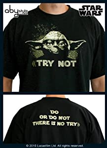 ABYstyle ABYTEX106 - Disfraz de Yoda para hombre (adulto) (talla L)