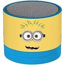 Despicable Me - Mini altavoz, Bluetooth, color azul (Lexibook BT010DES)