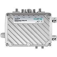 Axing TVS 544-00 amplificatore professionale 44 dB per digitale terrestre antenna tv e radio (FM e DAB), 5 ingressi FM, VHF1, VHF3, 2 x UHF - Trova i prezzi più bassi su tvhomecinemaprezzi.eu