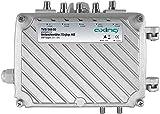 Axing TVS 544-00 DVB-T-Mehrbereichsverstärker Antennen-Verstärker (44 dB, 5 Eingänge) UKW VHF UHF DVB-T DVB-T2 HD