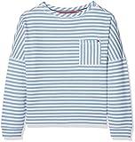 Tommy Hilfiger Girl's AME True Stripe Boat Neck Sweatshirt