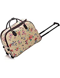 d84fec411c LeahWard® Large Size Holdall Luggage Travel Bag with Wheel Cabin Hand Baggage  Gym Holiday Trolley