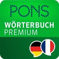 PONS Wörterbuch Französisch - Deutsch PREMIUM