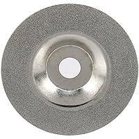 Schleifscheibe,Schmirgel Klett-Schleifteller verwendet für das Schneiden von harten und spröden Materialien wie Glas, Keramik, Marmor, Metall, Leiterplatten