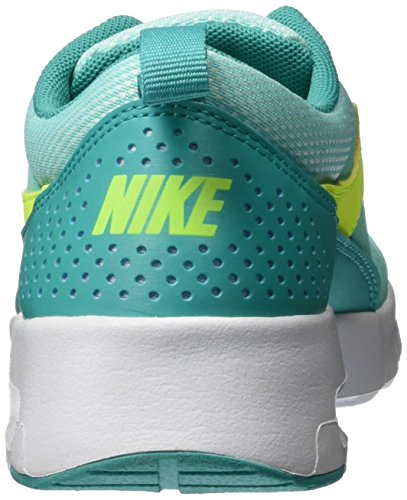 Nike 814444-300, Scarpe da Ginnastica Air Max Thea (Gs) Ragazza Turchese (Hyper Turq / Volt-Clear Jade-White)