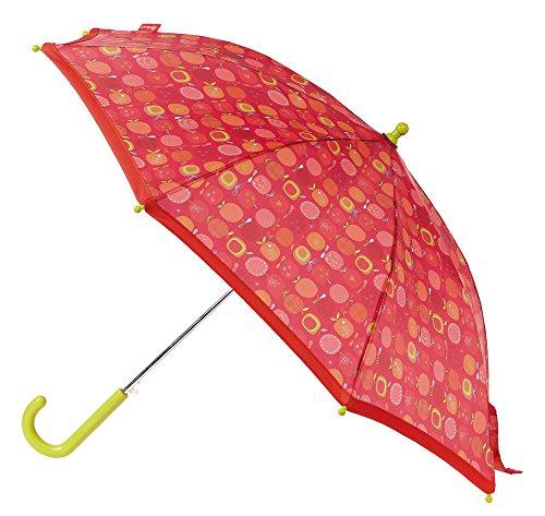 sigikid, Mädchen, Regenschirm mit Äpfelchen, Apfelherz, Rot, 24820 (Nv-mädchen)