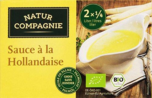 Natur Compagnie Sauce Hollandaise Bio 2 x 0,25 L 4000345046318
