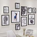 Galleria fotografica X&L Salone minimalista moderno sala da pranzo immagine di sfondo di quadri di studio dei murales di camera da...