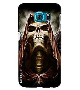 Omnam Skelton Lauging With Big Teeths Printed Designer Back Cover Case For Samsung Galaxy S7