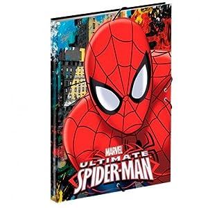 Spiderman- Carpeta A4 con Gomas (Montichelvo 54308)