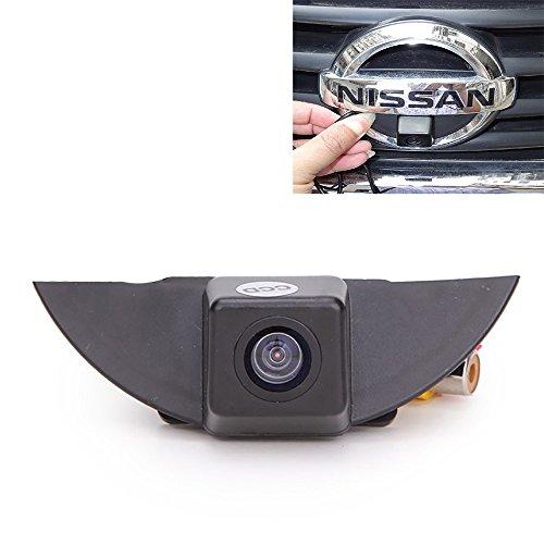 Fahrzeugspezifisches Auto Frontansicht Logo Eingebettetes Kamera-Parksystem mit CCD Wasserdicht IP67 für Nissan X-Trail Tiida Qashqai Livina Fairlady Pulsar Cube Armada Frontier Murano