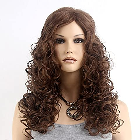 Stfantasy Wigs for Women Long Curly Heat Resistant Synthetic Hair