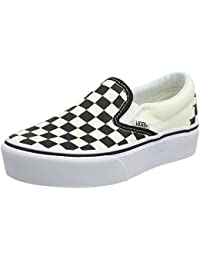 Vans Classic Slip-On Platform, Zapatillas Sin Cordones Para Mujer