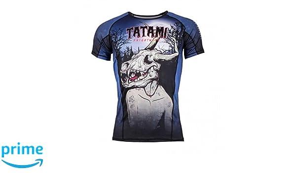 Tatami FRIGHTWEAR COLLECTION Adults Medium Jiu Jitsu BJJ MMA WENDIGO RASH GUARD