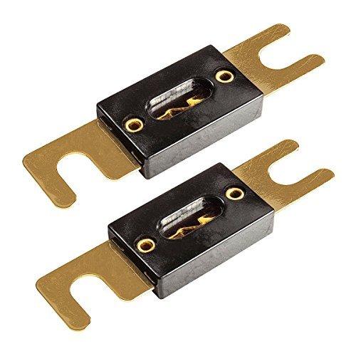 tomzz Audio 5800-020 - Fusibile ANL da 80 A, contatti placcati oro, 2 pezz