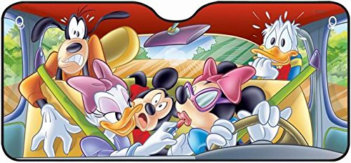 Disney 26013 The Band in The Car Parasole Anteriore, 130 x 60 cm
