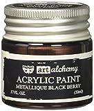 Unbekannt Prima Marketing finnabair Art Alchemy Farbe 1,7Fluid Ounces-metallique Schwarz Berry, Andere, Mehrfarbig