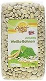 Antersdorfer Mühle Weiße Bohnen, 6er Pack (6 x 500 g) - Bio